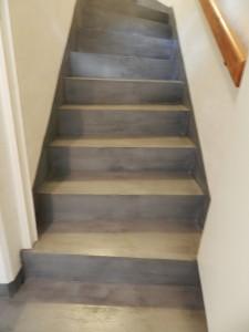 Escalier en béton ciré angers